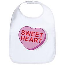 Sweet Heart Candy Heart Bib