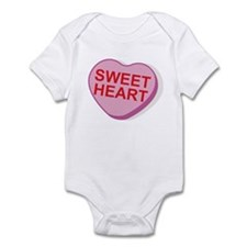 Sweet Heart Candy Heart Infant Bodysuit