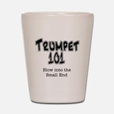 Trumpet 101 Shot Glass