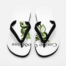 Cacao Goddess Flip Flops