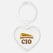 Awesome CIO Heart Keychain