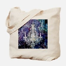 abstract watercolor chandelier  Tote Bag