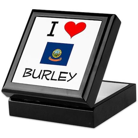 I Love BURLEY Idaho Keepsake Box