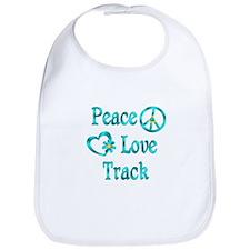 Peace Love Track Bib
