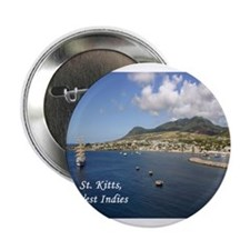 """St. Kitts 2.25"""" Button"""