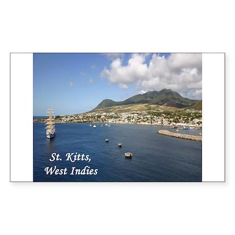 St. Kitts Sticker (Rectangle)