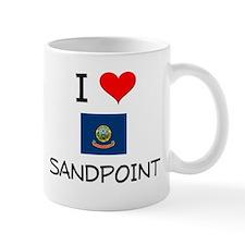 I Love SANDPOINT Idaho Mugs