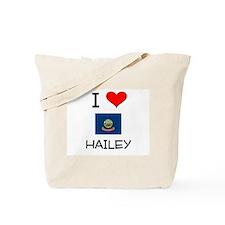 I Love HAILEY Idaho Tote Bag