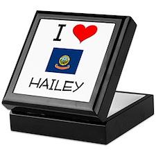 I Love HAILEY Idaho Keepsake Box