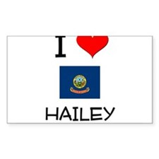 I Love HAILEY Idaho Decal