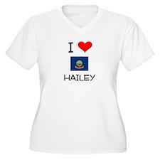 I Love HAILEY Idaho Plus Size T-Shirt