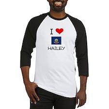 I Love HAILEY Idaho Baseball Jersey