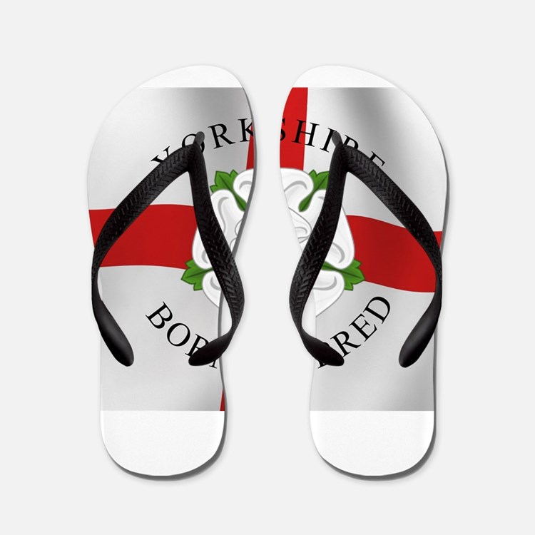 Yorkshire Born 'N' Bred Flip Flops