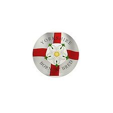 Yorkshire Born 'N' Bred Mini Button