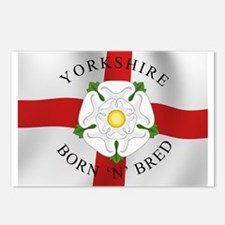 Yorkshire Born 'N' Bred Postcards (Package of 8)