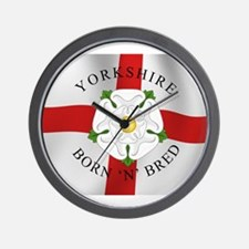 Yorkshire Born 'N' Bred Wall Clock