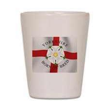 Yorkshire Born 'N' Bred Shot Glass