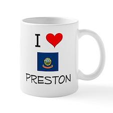 I Love PRESTON Idaho Mugs