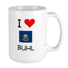 I Love BUHL Idaho Mugs
