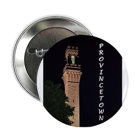 """Pilgrim Monument at Night 2.25"""" Button"""
