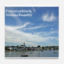 Provincetown Harbor Tile Coaster
