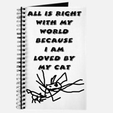 Loved By My Cat Journal