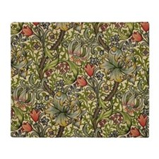 Morris Golden Lily Throw Blanket
