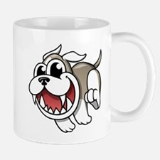 Cartoon Bulldog Mugs