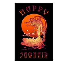 Halloween Wind-Samhain Postcards (Package of 8)