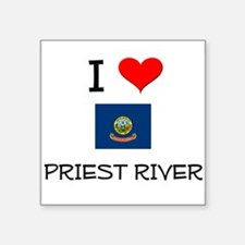 I Love PRIEST RIVER Idaho Sticker