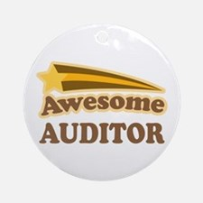 Awesome Auditor Ornament (Round)