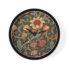 William Morris Evenlode  Wall Clock