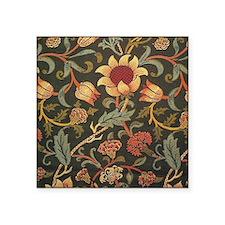 "William Morris Evenlode  Square Sticker 3"" x 3"""