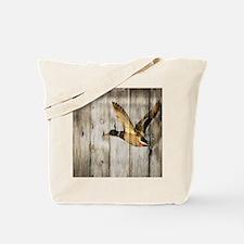 barnwood wild duck Tote Bag