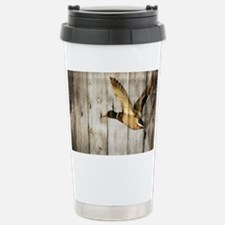 barnwood wild duck Travel Mug
