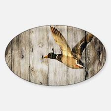 barnwood wild duck Decal