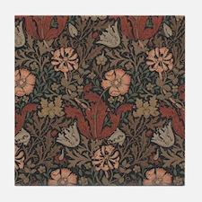 William Morris Compton Tile Coaster