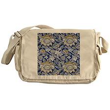William Morris Floral Design Messenger Bag
