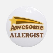 Awesome Allergist Ornament (Round)