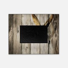 barnwood wild duck Picture Frame