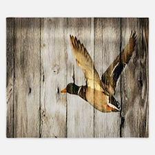 barnwood wild duck King Duvet
