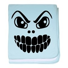 Scary Mask baby blanket