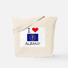I Love ALBANY Indiana Tote Bag
