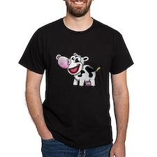 Cartoon Cow T-Shirt