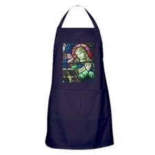 Stained Glass Mary Apron (dark)