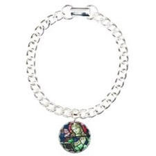 Stained Glass Mary Bracelet