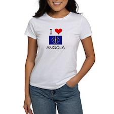 I Love ANGOLA Indiana T-Shirt