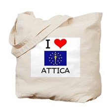 I Love ATTICA Indiana Tote Bag