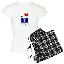 I Love ATTICA Indiana Pajamas