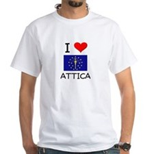 I Love ATTICA Indiana T-Shirt